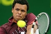 Jo Wilfred Tsonga / Frenchman Jo Wilfred Tsonga is a top ten professional tennis player who is known for his explosive play. He also has a winning smile.