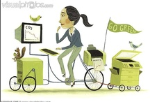 Get Spoked! May is National Bike Month / Live Green! Ride a Bike!  Cycling is part of a sustainable lifestyle, is alternative transportation, helps the environment, and also raises eco awareness.