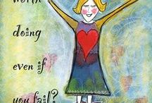 Brene Brown quotes / Illustrated Brene Brown quotes by Lisa McLoughlin.