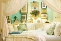 Home sweet home <3 / Comfy, vintage, pastel colors, houses, resting, ... What i want my home to be filled with