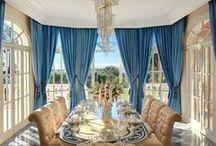 Luxuriöse Esszimmer
