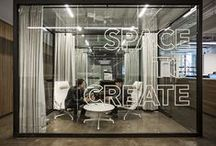 Space to Create - Office Interior Design Ideas, Inspiration and DIY / coworking area for an experience design studio. An environment where human minds generate ideas that inspire digital innovation. #inspiration #interiordesign #diy #office