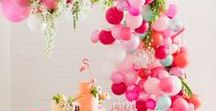 Inspiration: Summer Party / Cool ideas for your next summer party. Cocktails, garden games and fun decorations. Whether you have a budget or not.