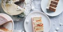 Sweet. / pastries and sweet treats. colorful food styling.