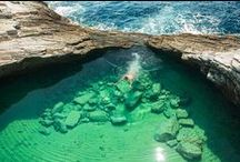 Swimming Pools Around the World / Natural, Tidal and Man-Made