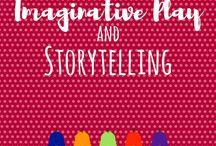 Imaginative Play and Storytelling / Small world play | Imaginative play | Role play | Children's stories | Storytelling