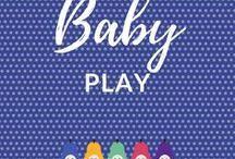 Baby Play / Baby play ideas | Sensory play | Messy play