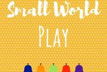 Small World Play / Small world play | Tuff spot ideas | Imaginative play