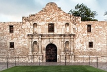 San Antonio Sights / This board showcases various sights to see while in San Antonio
