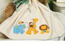 Hobby Cross-stitch or crochet baby blankets / by Julie Legaspi-Ramirez