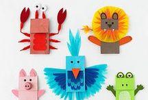 Kreatív ötletek / Gyerekekkel elkészíthető alkotások