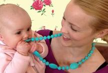 """Mama and Belle for Mum / On trend & stylish teething jewellery for mums ... the type that doesn't scream """"I'm wearing a chewable necklace!""""  Clever dual purpose teethers without the worry of broken necklaces or choking hazards 