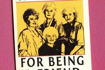 GOLDEN GIRLS / Sophia~Dorothy~Blanche~Rose