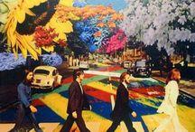 BEATLES-Fab Four / George~Ringo~John~Paul~The Fab Four~The Boys From Liverpool