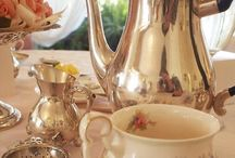 """T E A   T I M E / I love """"Afternoon Tea""""-in pretty cups, tea sandwiches,scones & macarons. There's nothing better than having a cuppa tea with a friend."""