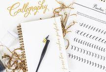 CALLIGRAPHY~Cursive~Penmanship