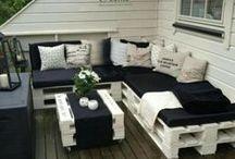 Garden/terrace / piha ja puutarha