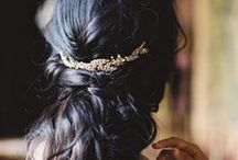 Wedding make-up, hair, nails / Inspiration for my wedding hair, make-up and nails