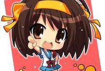 Chibi / Chibi characters from anime and manga