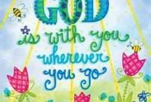 God is with you wherever you go.....