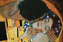 Klimt / Gustav Klimt (July 14, 1862 – February 6, 1918) was an Austrian symbolist painter and one of the most prominent members of the Vienna Secession movement. Klimt is noted for his paintings, murals, sketches, and other objets d'art. Klimt's primary subject was the female body, and his works are marked by a frank eroticism. In addition to his figurative works, which include allegories and portraits, he painted landscapes.  (From Wikipedia)