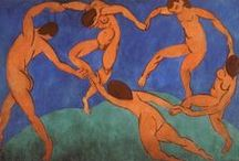 Matisse / Henri-Émile-Benoît Matisse (31 December 1869 – 3 November 1954) was a French artist, known for both his use of colour and his fluid and original draughtsmanship. He was a draughtsman, printmaker, and sculptor, but is known primarily as a painter.  His mastery of the expressive language of colour and drawing, displayed in a body of work spanning over a half-century, won him recognition as a leading figure in modern art. (From Wikipedia)