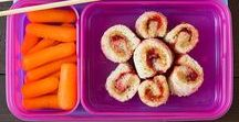 Lunchtime / Ideas for fun and healthy lunches for your girl, and maybe even you ;)