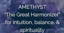 Crystal Clarity / The metaphysical + healing properties of crystals, stones, gems