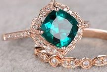 Colored Gemstones | Rubies, Emeralds, Sapphires, oh my! / Beautiful colored gemstone jewelry. Colored gemstone engagement rings, necklaces and bracelets.
