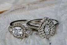 Diamonds | Rings. Bracelets. Necklaces. / Add a little bling where ever you go with diamond jewelry! Diamond rings, diamond bracelets, diamond necklaces.
