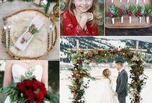 Winter Wedding Ideas / Winter wedding ideas: food, decor, cakes, hair do and more! jewelerstradeshop.com