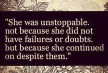 Quotes. / by Livi Donata