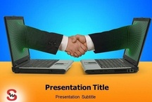E-Commerce PowerPoint Templates / You can upload your Presentation and share with The World...