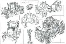 Fundamentals Foundations / Concept Design - Student works from FZD School of Design. Diploma in Industrial Design.