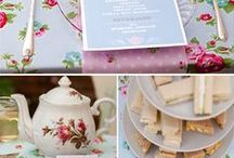 Tea Party / everything for a nice cosy tea party
