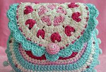 Crochet: Bags & Purses / Awesome stuff-toting hooked handbags