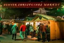 Denver Christkindl Market / With its music, food, holiday lights and old-world vendors the Denver Christkindl Market provides an authentic atmosphere of the German holiday season, reminiscent of the times families spend at the Christmas Markets throughout Europe. This free event is open to the public Nov 21 - Dec 23, 2014!