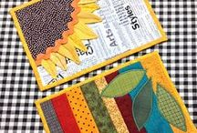 Crafty Inspirations Mug Rugs, Potholders, Placemats, Etc. / by Teresa A Hearth & Home Goddess Wannabe