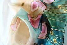 Scarves  Silk painting II