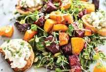 Seasonal Salads / Your utlimate community board for healthy, easy salads! Adjust any recipe to make it just right for your diet!