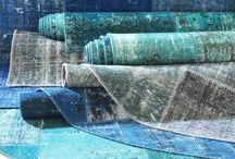 Textiel / Textiel maakt van je huis een gezellig thuis, een vloerkleed in je lievelingskleur, zelfgemaakte gordijnen, zachte handdoeken of nieuw beddengoed.