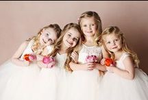 wedding: flower girls