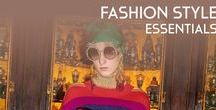 Fashion Style Essentials / If Essential had a soul, it would live and breathe Gucci. The fashion behind the brand and the exquisit concept of modern lines who recreate the iconic designs are similar in both brads. Gucci is essential. Essential is Gucci.