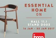 IMM Cologne 2018 / IMM Cologne is the first tradeshow of the year. Discover the trends of 2017 at IMM Cologne with Essential Home! Visit us at Hall 11.1, Stand D003