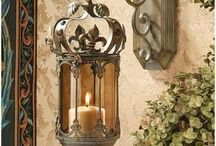 Home: Lamps & Mirrors
