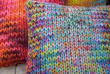 Knit: Cushions