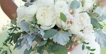 Wedding Flowers / Wedding flower ideas for the bridal party and venue