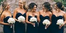Bridesmaid Inspiration / Inspiration for your bridesmaids, from dresses, hair and make up inspiration to bridesmaid gifts.