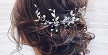 Wedding Hair & Makeup Inspiration / Inspiriing wedding hair and makeup for the bride and bridesmaids.