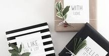 Gift Wrap Ideas / Gift wrap ideas for all occassions